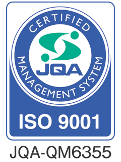 ISO9001 Certified Registered No.: JQA-QM6355